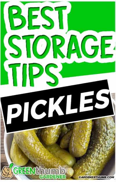 how long do pickles last