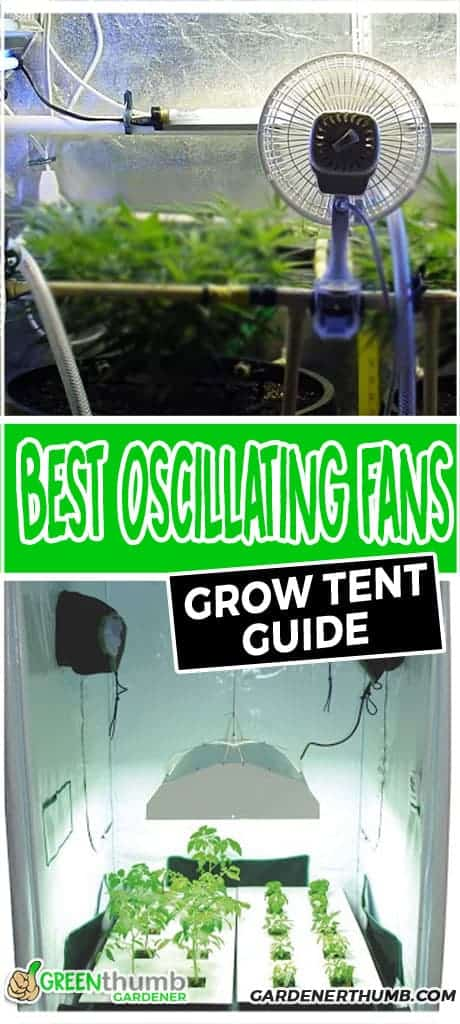 Best Grow Tent Oscillating Fan