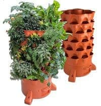 Garden Tower 2: 50-Plant Composting Container Garden