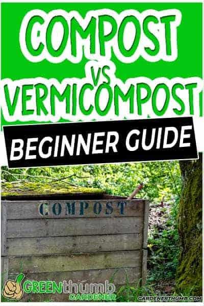 vermicompost vs compost