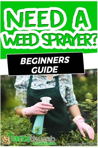 sprayer for weeds