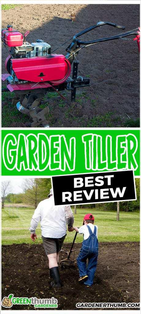 best garden tiller review