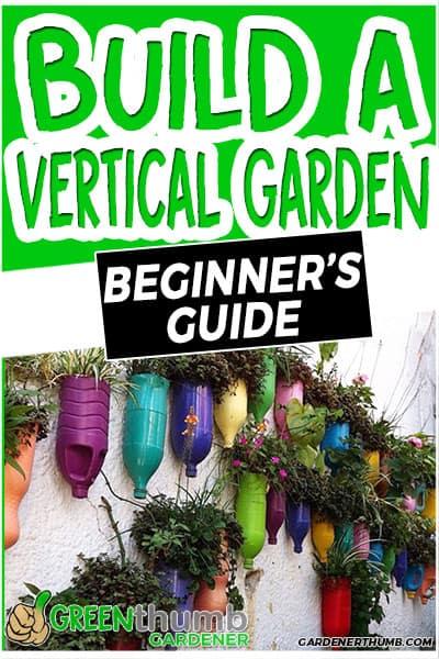 build a vertical garden