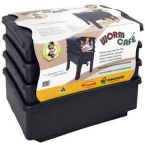 Worm Cafe, Worm Composter, Black