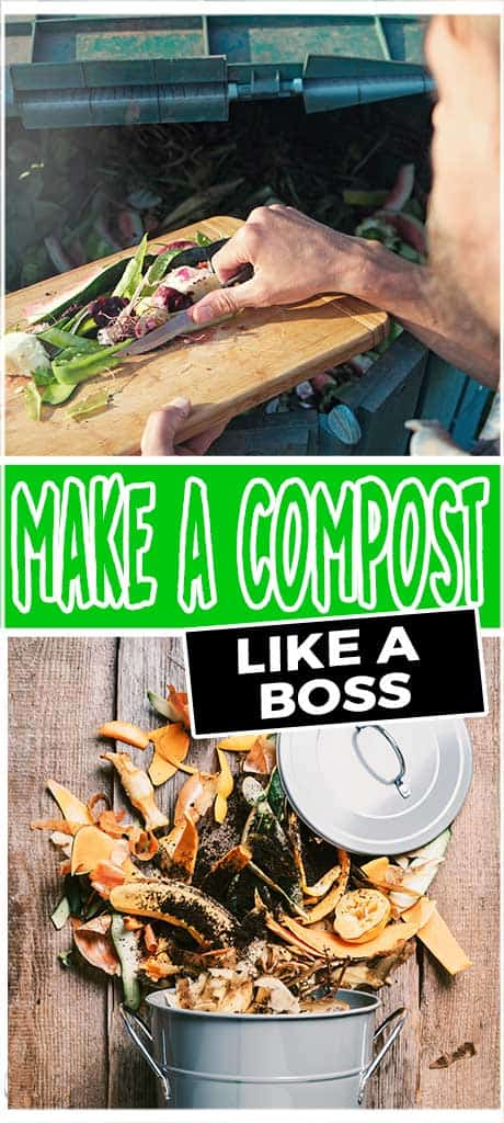 make a compost like a boss