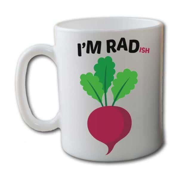 I'm RADish White Coffee Mug