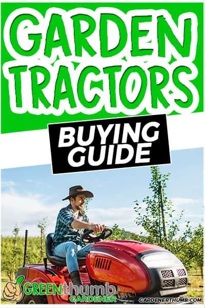 garden tractors buying guide