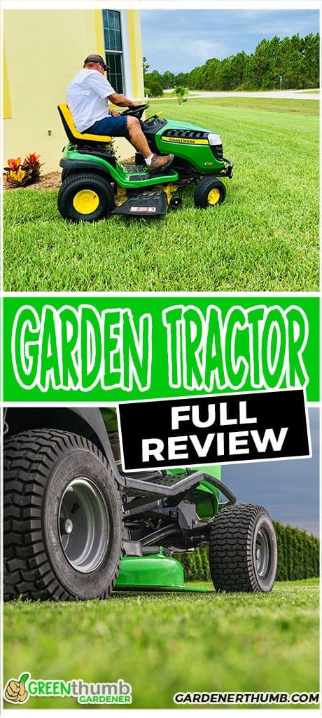 garden tractor full review