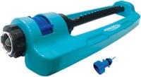 Aqua Joe SJI-OMS16 Indestructible Metal Base Oscillating Sprinkler