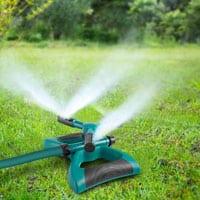 Garden Sprinkler, 360° Rotating Adjustable Lawn Sprinkler