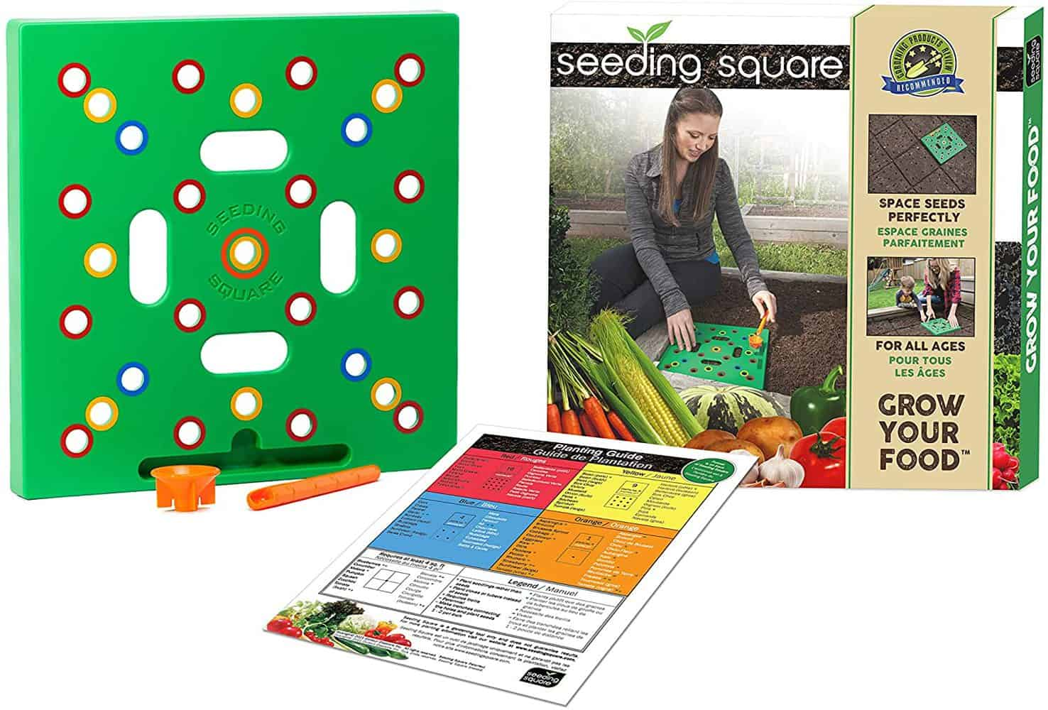 Seeding Square: A Seed-Sowing Template