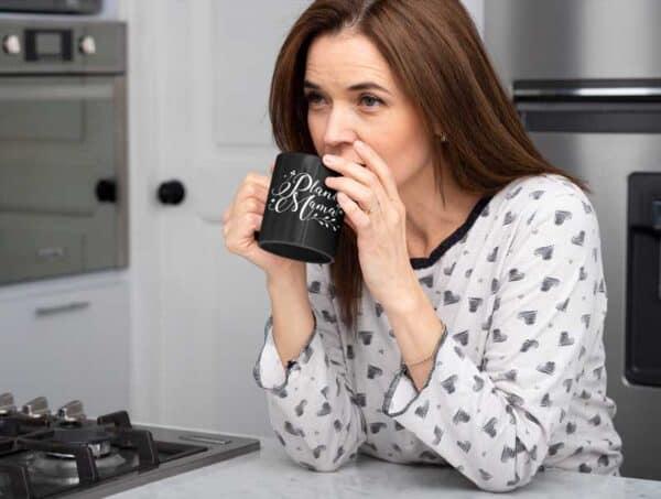 Plant Mama Black Coffee Mug