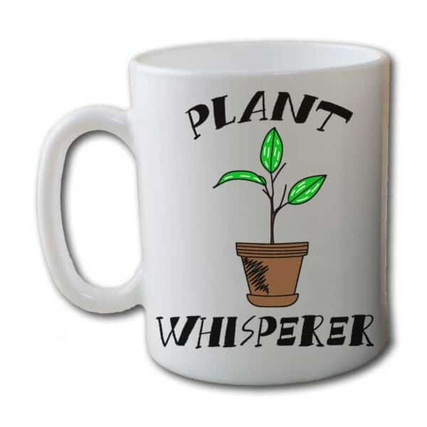 Plant Whisperer White Coffee Mug