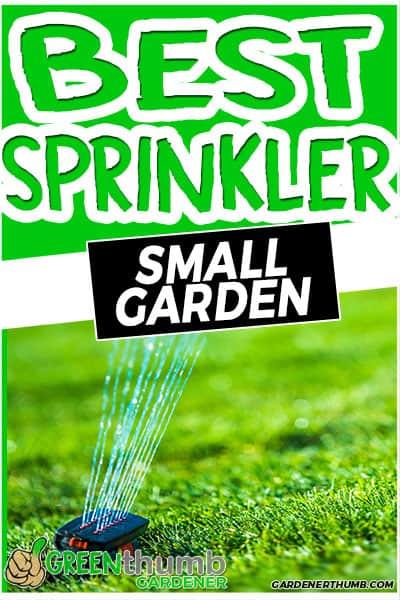 best sprinkler small garden