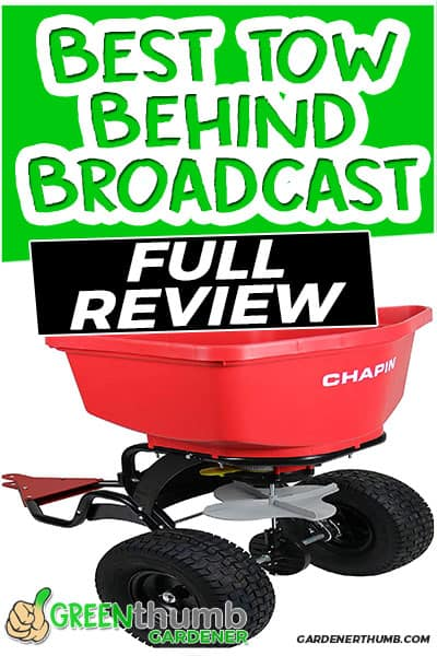 best tow behind broadcast full review