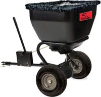 Brinly BS36BH, 175 lb, Black Tow-Behind Broadcast Spreader