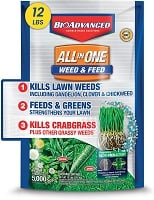 BioAdvanced 100532518 Bayer All-in-One Weed & Feed