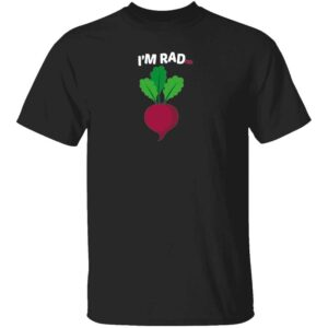 Im RADish Mans T Shirt Black