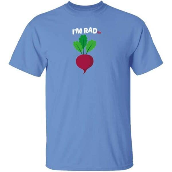 Im RADish Mens T Shirt Carolina Blue