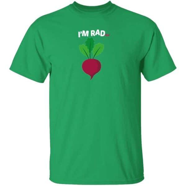 Im RADish Mens T Shirt Irish Green