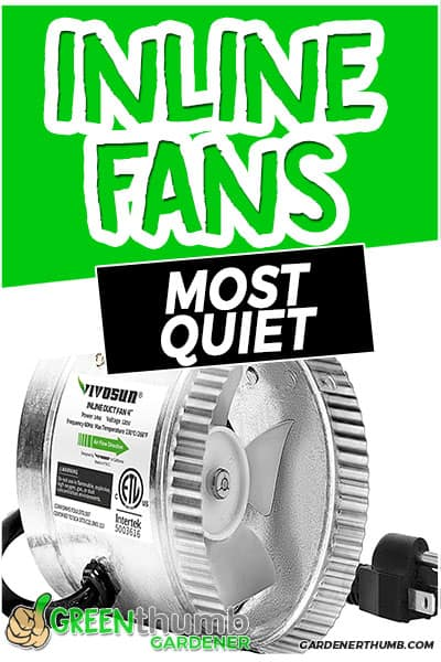 inline fans most quiet